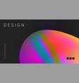 futuristic design multicolored background vector image vector image