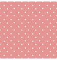 pink dotted lacy seamless pattern vector image