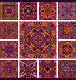 tiled ethnic pattern for fabric vector image vector image