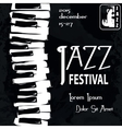 Jazz festival Poster vector image