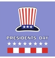 Presidents Day Icon vector image