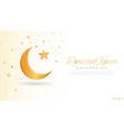 beautiful ramadan kareem background vector image vector image