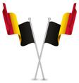 Belgium Waving Flag vector image vector image