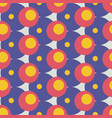 mid century retro geometric seamless pattern vector image vector image