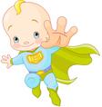 Super Baby vector image vector image