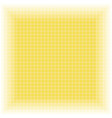 yellow checkered geometric background vector image vector image