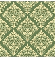 Gothic floral seamless pattern vector image