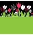 background with flowers vector illustration vector image vector image