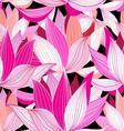 beautiful lotus flower vector image vector image