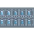Building facade parts vector image vector image