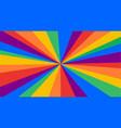 lgbt flag poster banner vector image