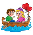 love boat theme image 1 vector image