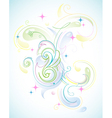 pastel abstract vector image vector image