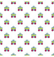 princess carriage pattern seamless vector image