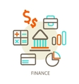concepts of bank vector image