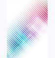 abstract geometric shape colors background vector image vector image