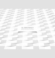 abstract paper cut white paper pattern design vector image