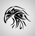 Eagle Head Tribal vector image vector image