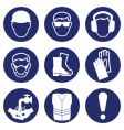 Health safety icons