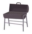 metal barbecue icon cartoon style vector image vector image