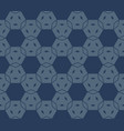 minimal geometric seamless pattern with hexagons vector image vector image