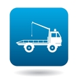 Tow truck icon simple style vector image vector image