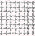 black and white cage seamless pattern vector image vector image