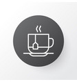 disposable tea icon symbol premium quality vector image