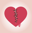 heart broken icon vector image vector image