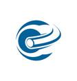 letter c logo icon design template elements color vector image