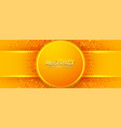 modern textured orange background design in 3d vector image vector image
