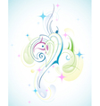 pastel abstract vector image