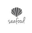 seashell vector image