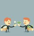 Businessman Trading vector image