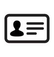 man icon male user person profile avatar symbol vector image vector image