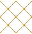 Rhombus seamless pattern white 1 vector image vector image