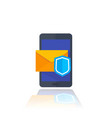 secure mail vector image vector image