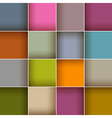 Square Colorful Abstract Background vector image vector image