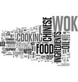 a beginners guide to chinese cookery text word vector image vector image