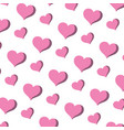 art heart graphic shape background vector image vector image
