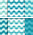 chevron seamless patterns set - background texture vector image