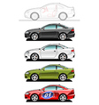 coupe vector image vector image