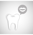 dental care icon vector image vector image