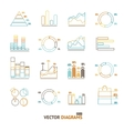 Infographic Set Element Outline vector image vector image