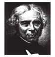 michael faraday vintage vector image vector image