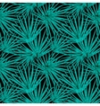 Palm Leaf Seamless Pattern Background vector image vector image