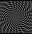 rotation torsion movement vector image vector image