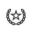 socialism communism icon on white background vector image