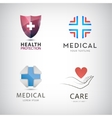 st of medical cross health protection vector image
