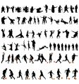 dance and sport set vector image